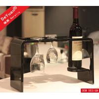 Wholesale Wine Glass Holder Home Acrylic Display Stands Clear 280*155*170mm from china suppliers