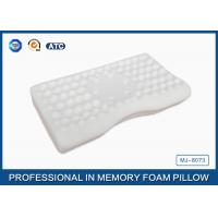 Wholesale Concave Jade Memory Foam Massage Pillow Side Sleeper , Bamboo Fiber Pillowcase from china suppliers