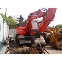 Buy cheap Good condition used Doosan DH160 wheeled excavator for cheap sale from wholesalers