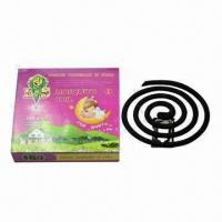 Wholesale Baby Mosquito Coil, Non Smoke for Baby, Available in Various Designs and Customized Sized Welcomed from china suppliers