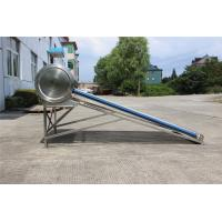 Quality 14 Tubes Vacuum Tube Compact Solar Water Heater Low Pressure For School Hot Water for sale