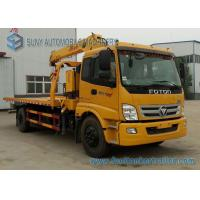 Wholesale Customized FOTON Diesel 8 Ton / 10 Ton Tow Truck With Crane from china suppliers