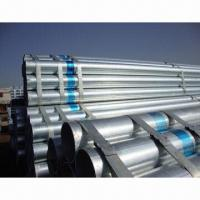 Wholesale Galvanized Steel Pipes, Standard: ASTM A53, BS1387-85, GB/T3091-08, DIN2440, JIS-G3444, EN 10255 from china suppliers