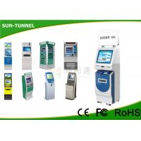 Wholesale Windows 7 Linux Self Service ATM Automated Kiosk With Cash Dispenser Machine from china suppliers