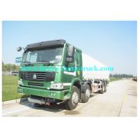 Wholesale Red 38000L Water Tanker Truck  8X4  with 380HP with warranty from china suppliers