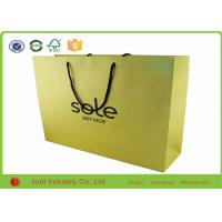 Wholesale Eco Friendly Recycled Shopping Bags , Custom Logo Luxury Printing Paper from china suppliers