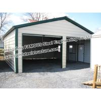 Wholesale Metal Garage Pre-engineered Building Steel Structure , Fabrication from china suppliers