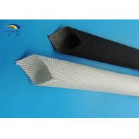 Wholesale Eco-friendly Flexible High Temperature Fiberglass Sleeving Fireproof for Carbon Brush from china suppliers