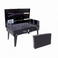 Wholesale Portable Camping/Picnic Charcoal BBQ Grill with Carry Case from china suppliers