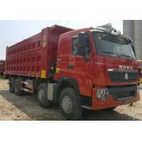 Wholesale SINOTRUK HOWO T7H Dump Truck German Man Engine 12 Wheels 360HP LHD For Mining Area from china suppliers