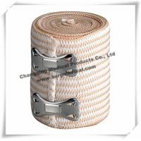 Wholesale Sterilized Soft Medical Bandage / High Stretch Compression Bandage With Clips from china suppliers