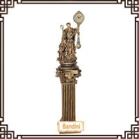 Wholesale China High Qualtity floor standing Clock / clock and roman pillar combination 2220BK+846RL from china suppliers