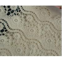 Wholesale white high quality dry cotton lace fabric from china suppliers
