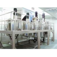 Buy cheap Homogenizing Emulsifying Machines Group from wholesalers