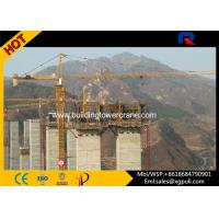 Quality 4 Ton Topkit Cat Head Tower Crane For Heavy Lifting Construction QTZ5010 for sale