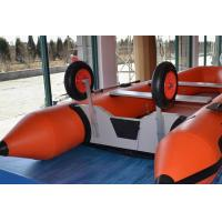 Wholesale Size Customized Inflatable Boat Wheels , Aluminum Inflatable Dinghy Wheels For Towing from china suppliers