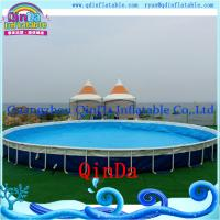 Wholesale Outdoor Inflatable Frame Pool Above Ground PVC Frame Pools Swimming Pool from china suppliers