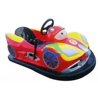 Wholesale Attractive Battery Powered Bumper Cars Ride , Customized Amusement Bumper Cars from china suppliers