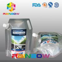 Wholesale Liquid Spout Pouch Plastic Pouches Packaging For Washing 140 Micron Thickness from china suppliers