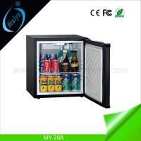 Wholesale 28L absorption single door hotel minibar from china suppliers