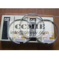 Wholesale Rubber Sealed Power Piston Rings , CAT Heavy Equipment Engine Piston Ring Replacement from china suppliers