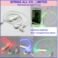Wholesale Luminous earphone, Luminous headset from china suppliers