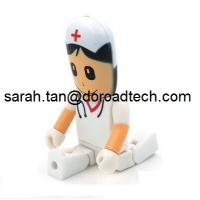 Wholesale Different Kinds of Plastic People USB Pen Drive, Customized Figures Available to Produce from china suppliers