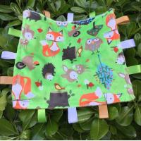 "Wholesale Eco Friendly Infant Security Blanket  100% Cotton Swaddle Blankets 12""*12"" from china suppliers"