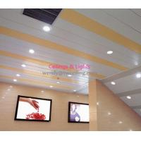 Wholesale Interior H Linear Ceiling Panel Aluminum Perforated 3mm Sound Absorbing Materials from china suppliers