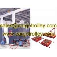 Quality Steerable machinery moving skates details with pictures for sale