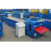 Wholesale PLC Control Glazed Tile Roll Forming Machine from china suppliers