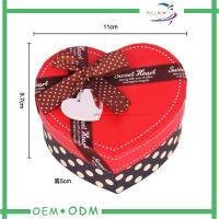 Wholesale Heart Shape Chocolate Gift Boxes , unique wedding gift box packaging from china suppliers