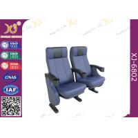 Wholesale Telescopic Chair XJ-6802 Push Back Mechanism Auditorium Theater Seating Chairs from china suppliers