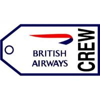 Wholesale British Airways Crew Permanent Luggage Tag (Woven Quality) from china suppliers