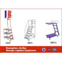 Wholesale Heavy Duty Collapsible Truck Service Step Step Ladders With Handrails from china suppliers