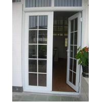 Wholesale White Aluminium Glass Doors / Tempered Interior Glass Door With Hinge from china suppliers