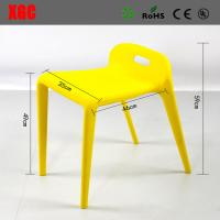 Wholesale Colorful Plastic Horse Chair Patio plastic Back Rest Horse Chiar Outdoor Dinner Chair from china suppliers