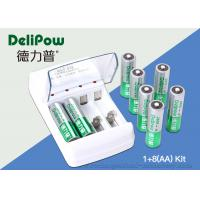 Wholesale Safety Rechargeable Battery Kit 8 AA2800mAh High Energy Density from china suppliers