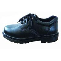 Wholesale Industrial Work Shoes Anti Static / Non Slip Work Shoes Black With Non Woven Fabrics Lining from china suppliers