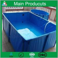 Wholesale Chongqing Mola customized plastic water tank pvc water storage tank collapsible fish Tank from china suppliers