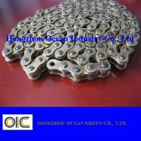 Wholesale ISO/ DIN / ANSI Four Side Punch Motorcycle Chain 420 428 428H 520 530 630 from china suppliers
