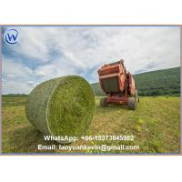 Wholesale Hot Selling 100% HDPE 10gsm 1*3600m Straw hay bale net wrap with high quality from china suppliers