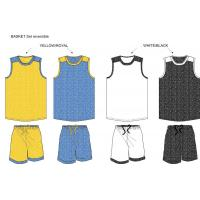 Wholesale TR 2016 reversible basketball uniform collection from china suppliers