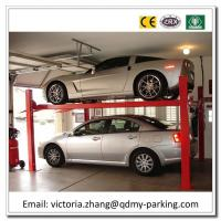 Wholesale On Sale! Cheap Four Post Parking Lift 4 post hydraulic car park lift Four Post Car Lifter from china suppliers
