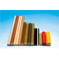 Wholesale Polish Pultruded Fiberglass Rod , Brown FRP Composite Insulator Rod from china suppliers