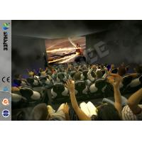 Wholesale Most Popular 5D Cinema Animation Movies , 5D Theater Movie With Bubble , Rain , Wind Special Effect from china suppliers