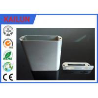 Wholesale 6063 T5 Silver Anodizing Aluminum Extrusion Profiles for End Caps Aluminum Punching Parts from china suppliers