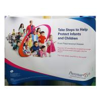 Wholesale 10ft  Wave Tension Fabric Banner Stands With Frame Carrying Bag Lightweight from china suppliers