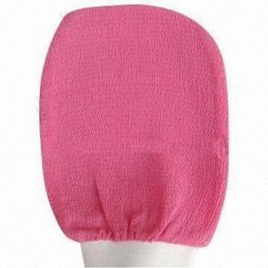 Wholesale Pink kessa viscose Morocco hammam scrub mitt bath/tan gloves from china suppliers