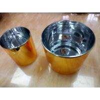 Quality High Speed CNC Machining Prototype With Vessel Golden Painted Polishing , High Accuracy for sale